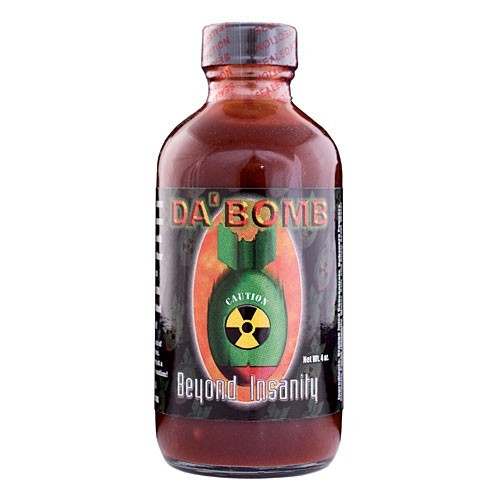Da Bomb Beyond Insanity Hot Sauce