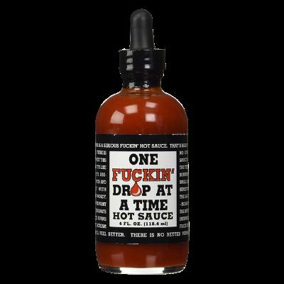 One Fuckin Drop at a Time Hot Sauce