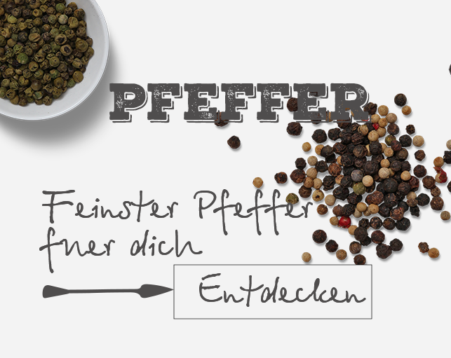 Premium Pfeffer online kaufen | justchili