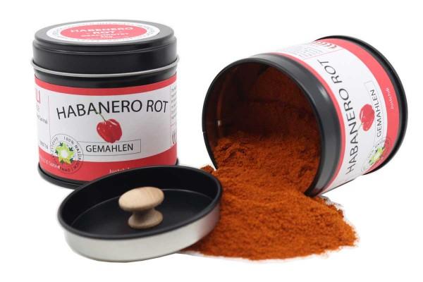 Habanero Rot - gemahlen